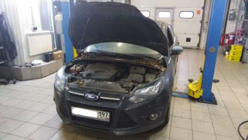 Ford Focus 3 2.0 TDCi Powershift 6DCT450 обездвижен