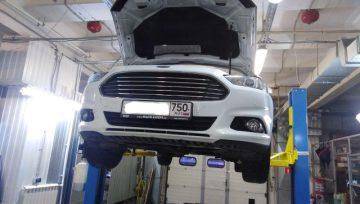 Ford Mondeo 5 6F35 частичная замена масла